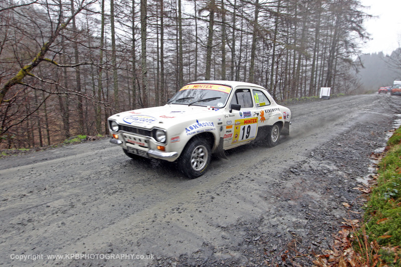 Davide Stokes and Guyu Weaver - Rally North Wales